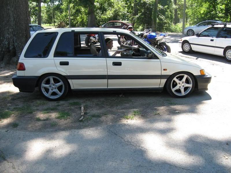 89 Honda Civic Wagon | The Wagon