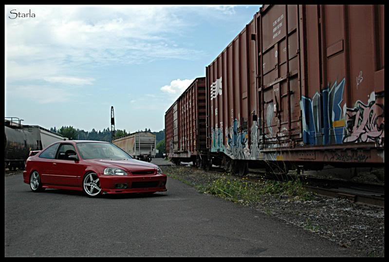2000 Civic Si The Mugen Girl