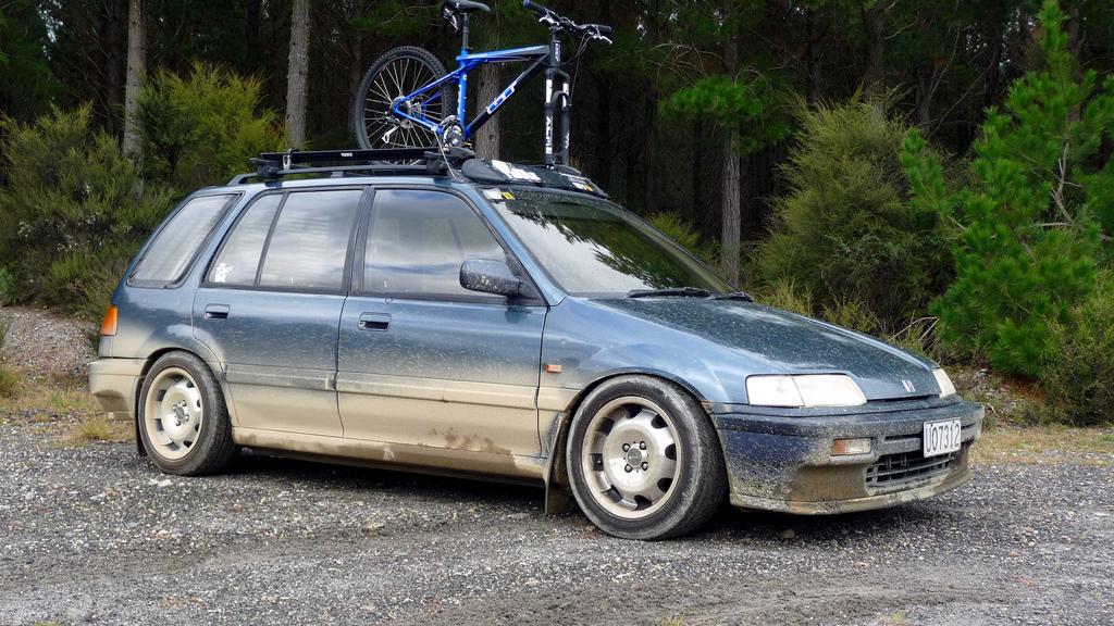 1989 honda civic wagon roof rack