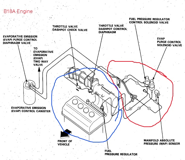 B18a1 Engine Diagram - Wiring Liry Diagram H7