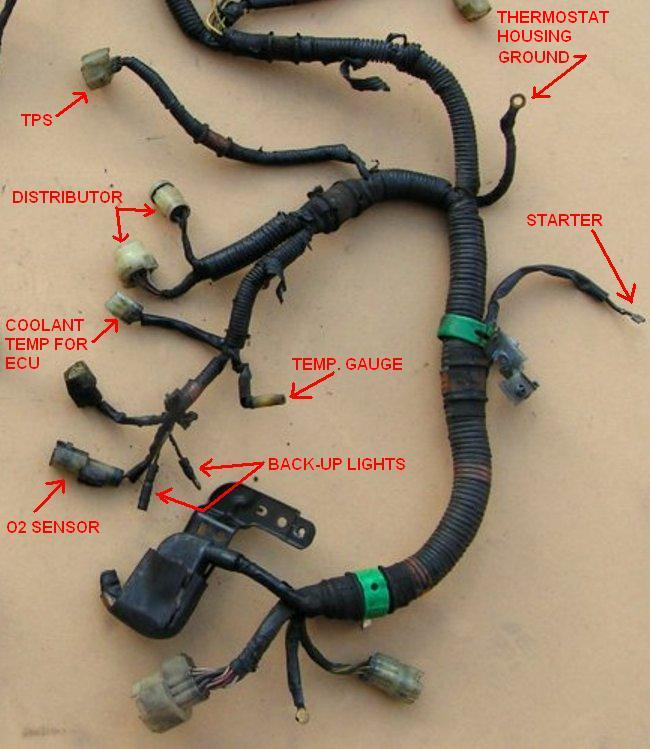 Harness Diagram Honda Crx Wiring Diagram 1991 Honda Crx Wiring Diagram