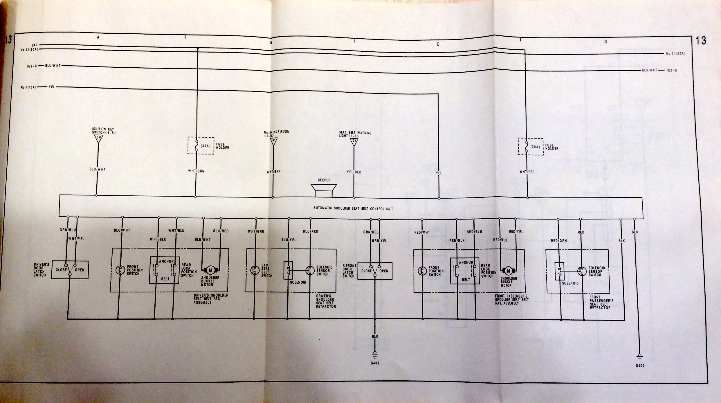 88 91 All The Wiring Information You Could Need Is In Here White Green Black 3 Prong Plug Diagram This